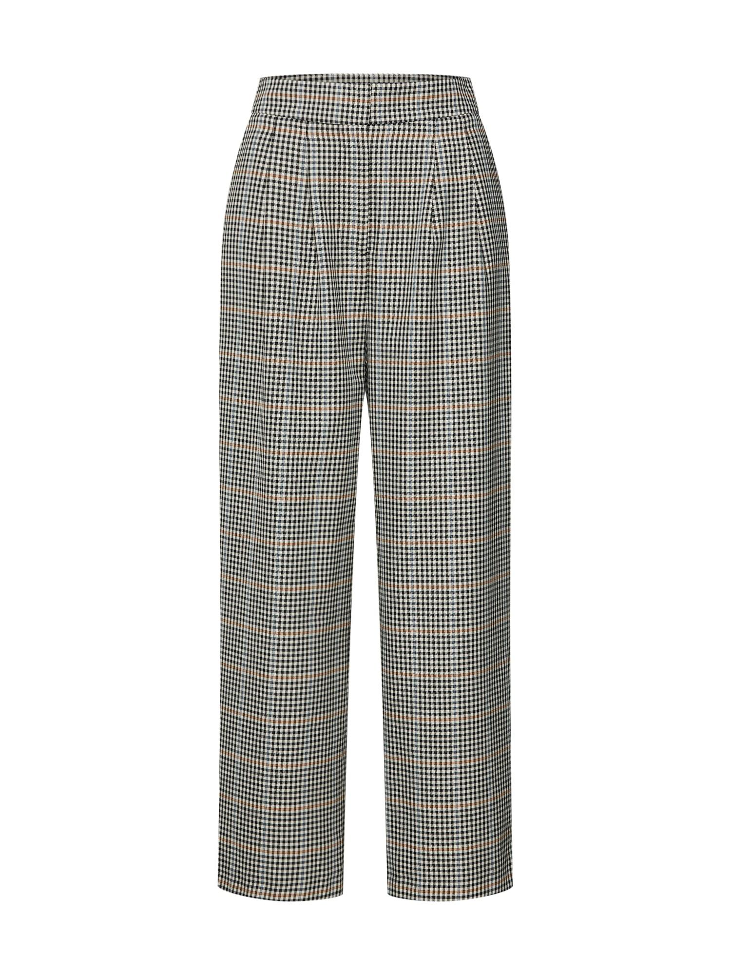 Kalhoty Holmes wide trousers béžová JUST FEMALE