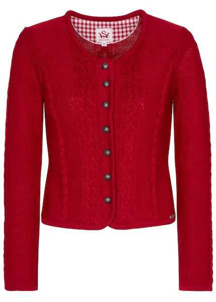 Jacken - Strickjacke 'Bonn' › SPIETH WENSKY › rot  - Onlineshop ABOUT YOU