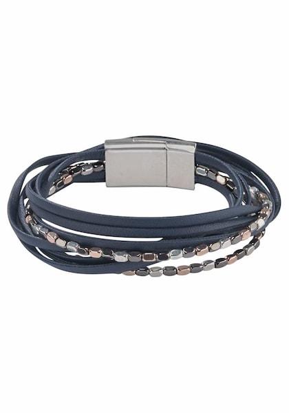 Armbaender - Wickelarmband › J. Jayz › kobaltblau altrosa silber  - Onlineshop ABOUT YOU