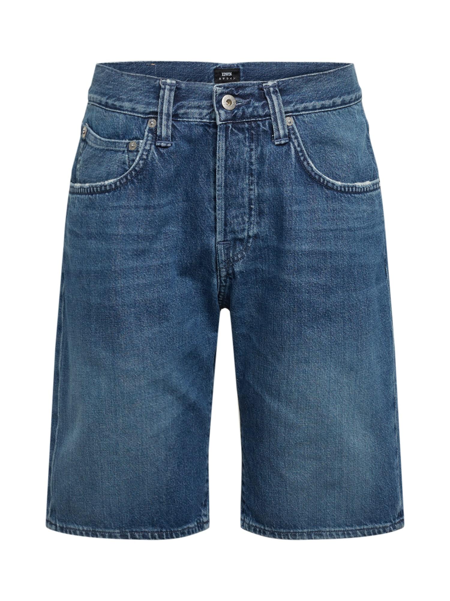 EDWIN Džinsai tamsiai (džinso) mėlyna
