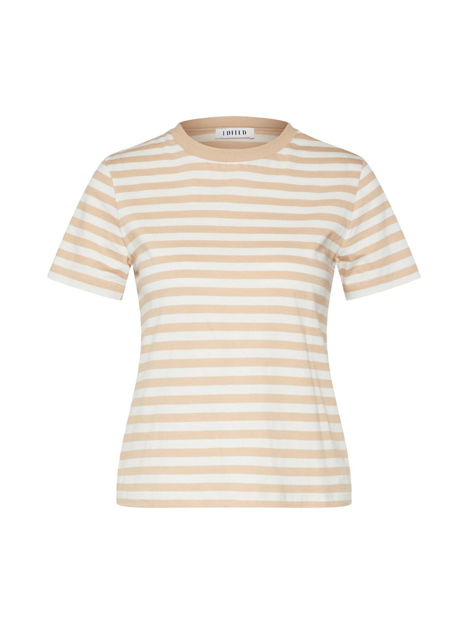 EDITED Marškinėliai 'Leila' kupranugario / balta