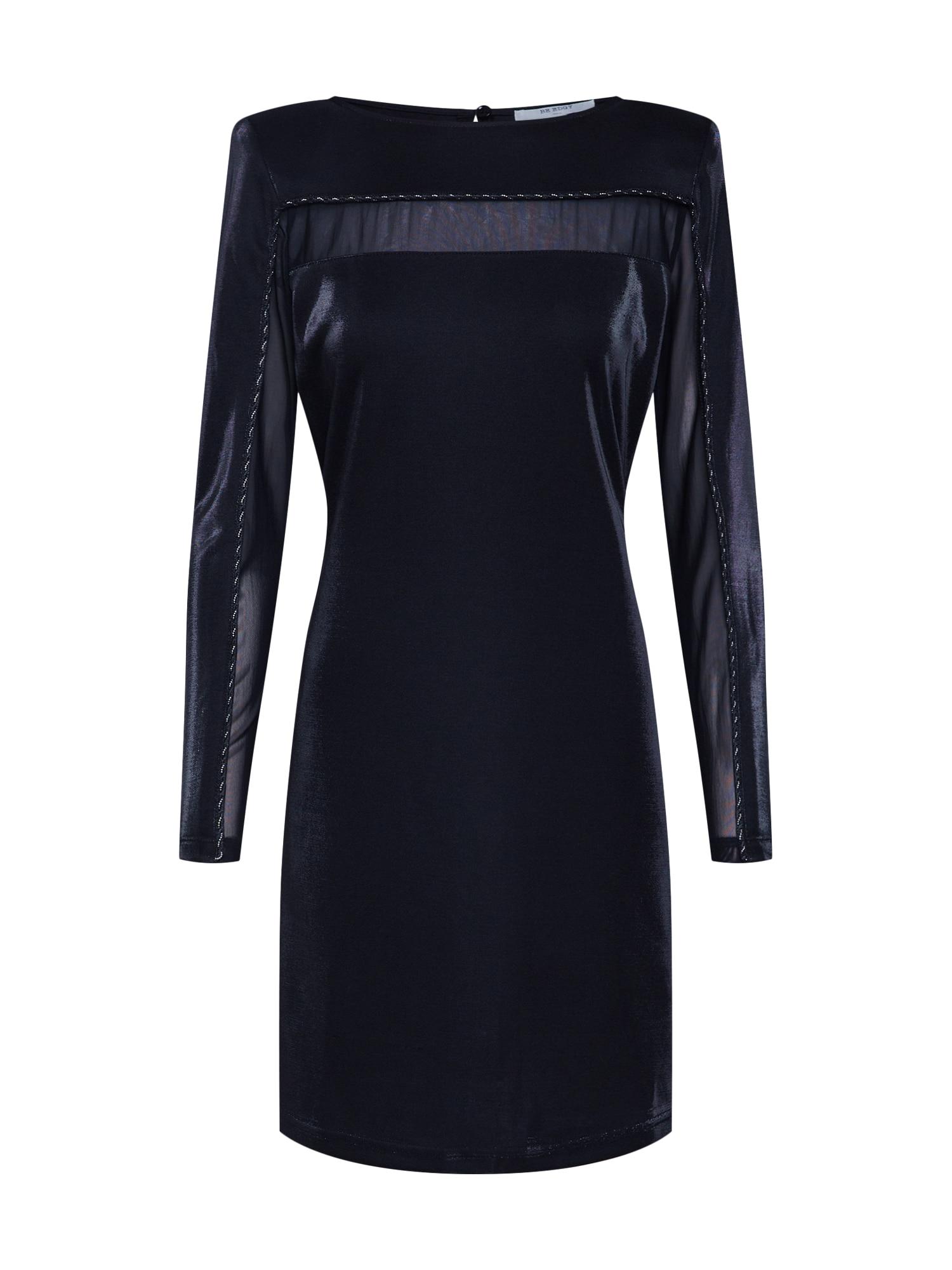 BE EDGY Kokteilinė suknelė 'Bejoslin' juoda