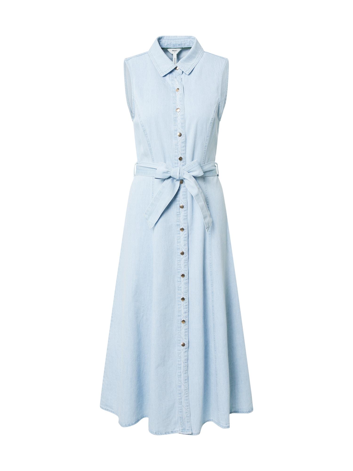 OBJECT Šaty 'Lucinda'  modrá