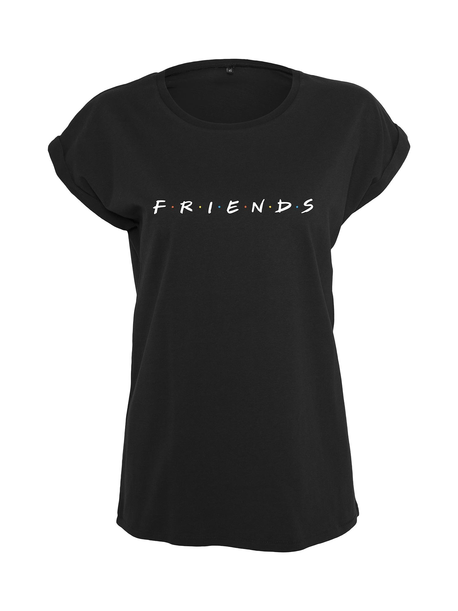 Tričko Ladies Friends Logo Tee černá Merchcode