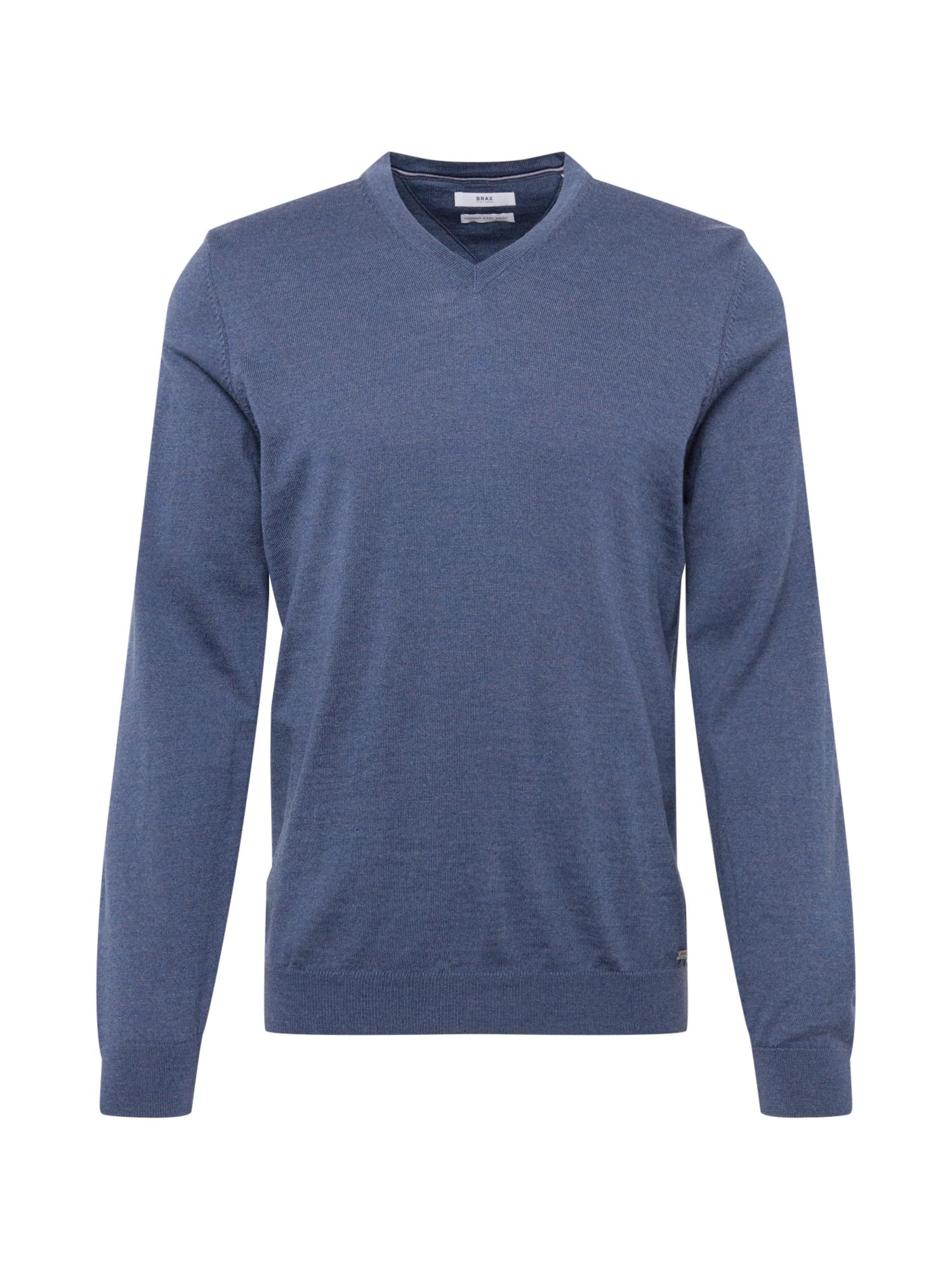 BRAX Megztinis 'vico' mėlyna