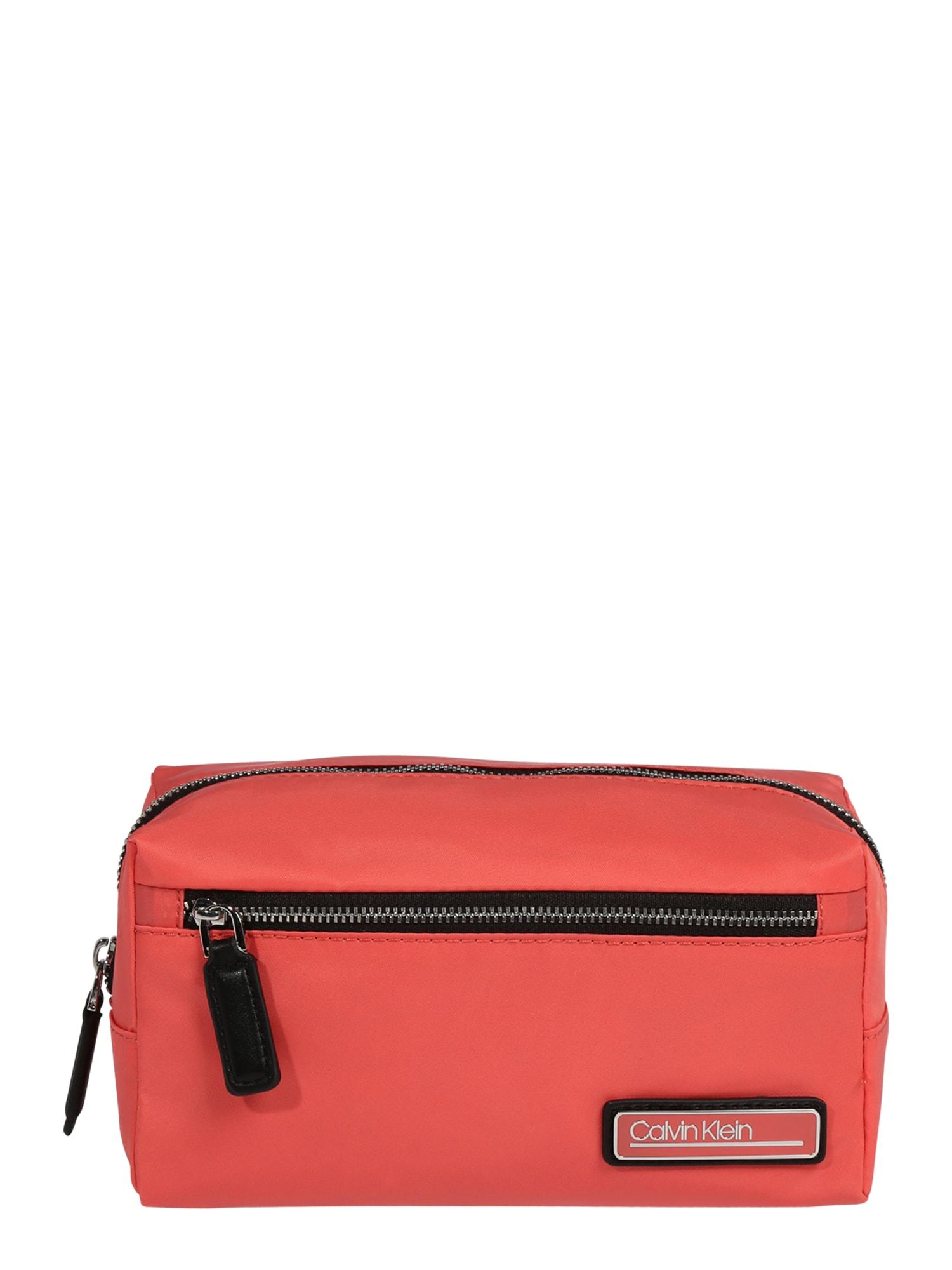 Calvin Klein Tualeto reikmenų / kosmetikos krepšys koralų splava