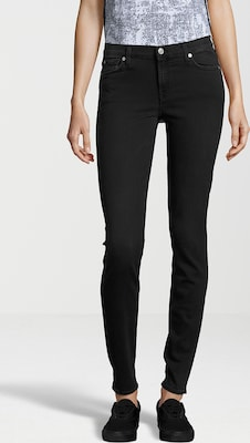 7 For All Mankind Jeans 'THE SKINNY BAIR BLACK'