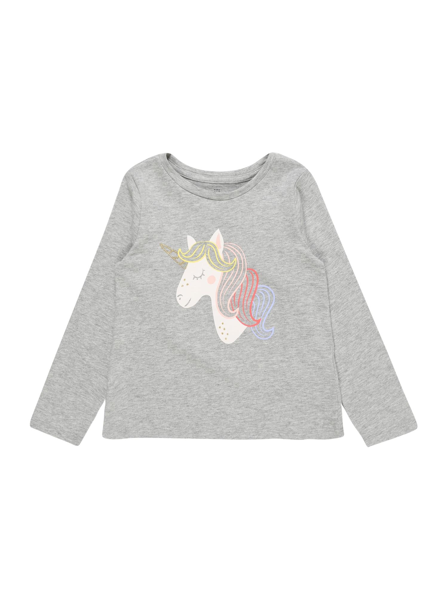 GAP Marškinėliai pilka / mišrios spalvos