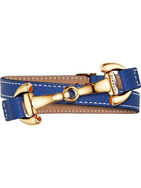 Armbaender für Frauen - Dimacci Armband 'Alba' blau  - Onlineshop ABOUT YOU