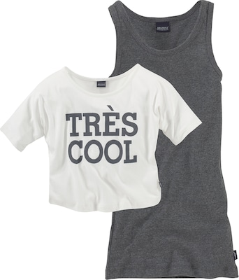 ARIZONA Tres Cool' Shirt & Top (Set, 2-tlg.)