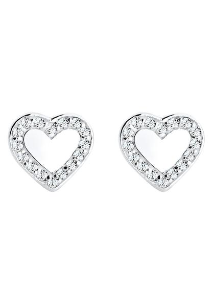 Ohrringe für Frauen - ELLI Ohrringe 'Herz' silber  - Onlineshop ABOUT YOU