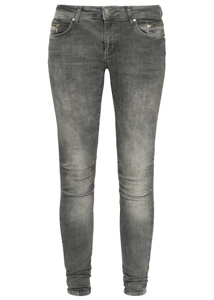 Hosen - Jeans 'Eva' › Miracle of Denim › grey denim  - Onlineshop ABOUT YOU