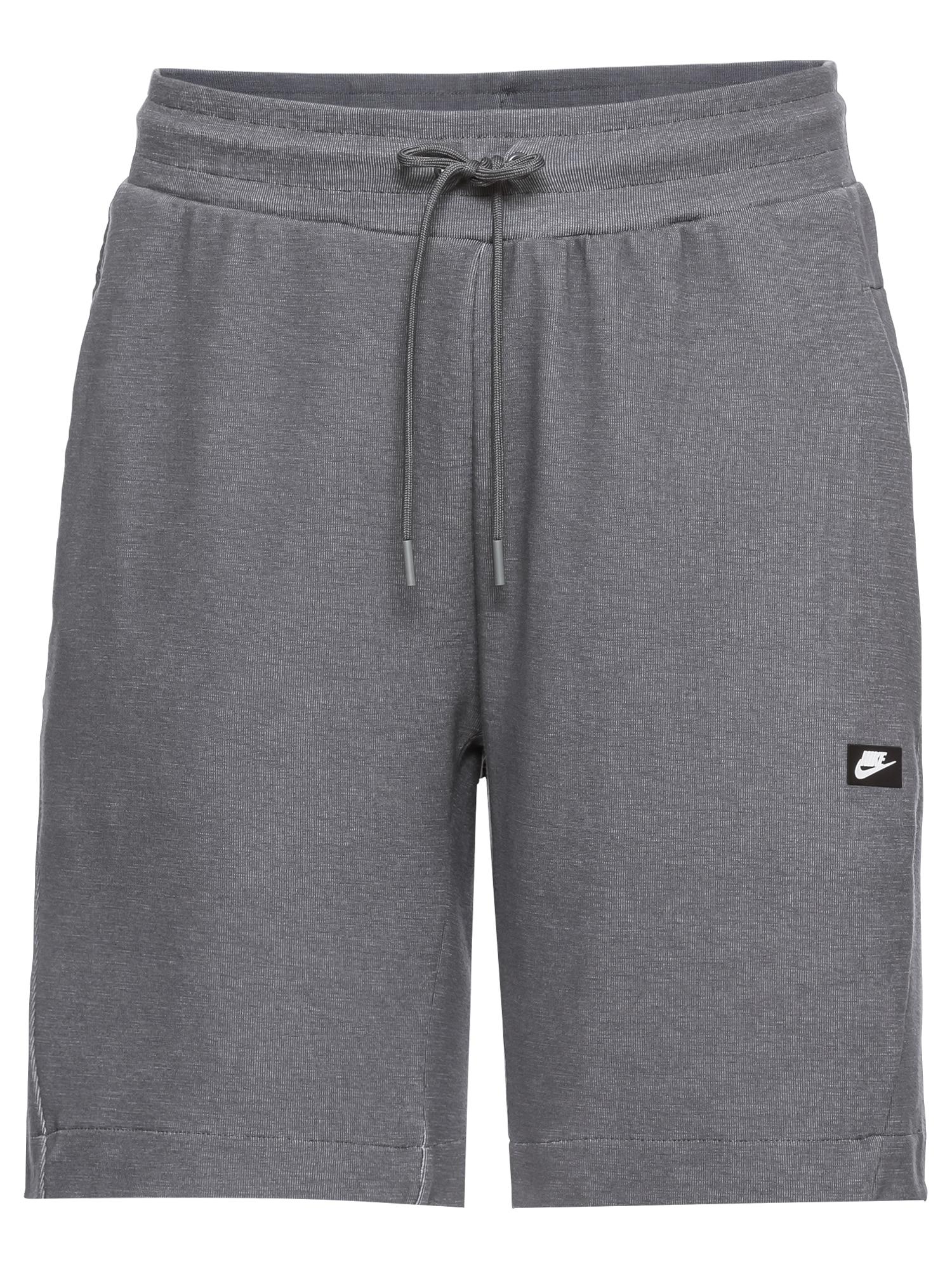 Nike Sportswear Nohavice 'M NSW OPTIC SHORT'  tmavosivá