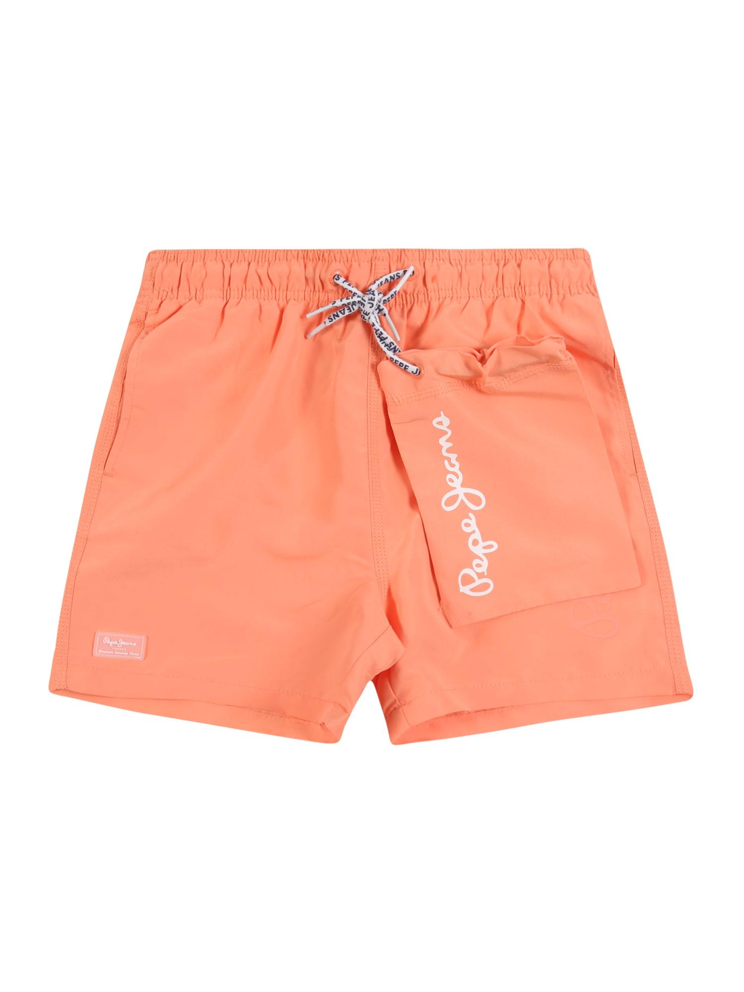 Pepe Jeans Maudymosi trumpikės oranžinė