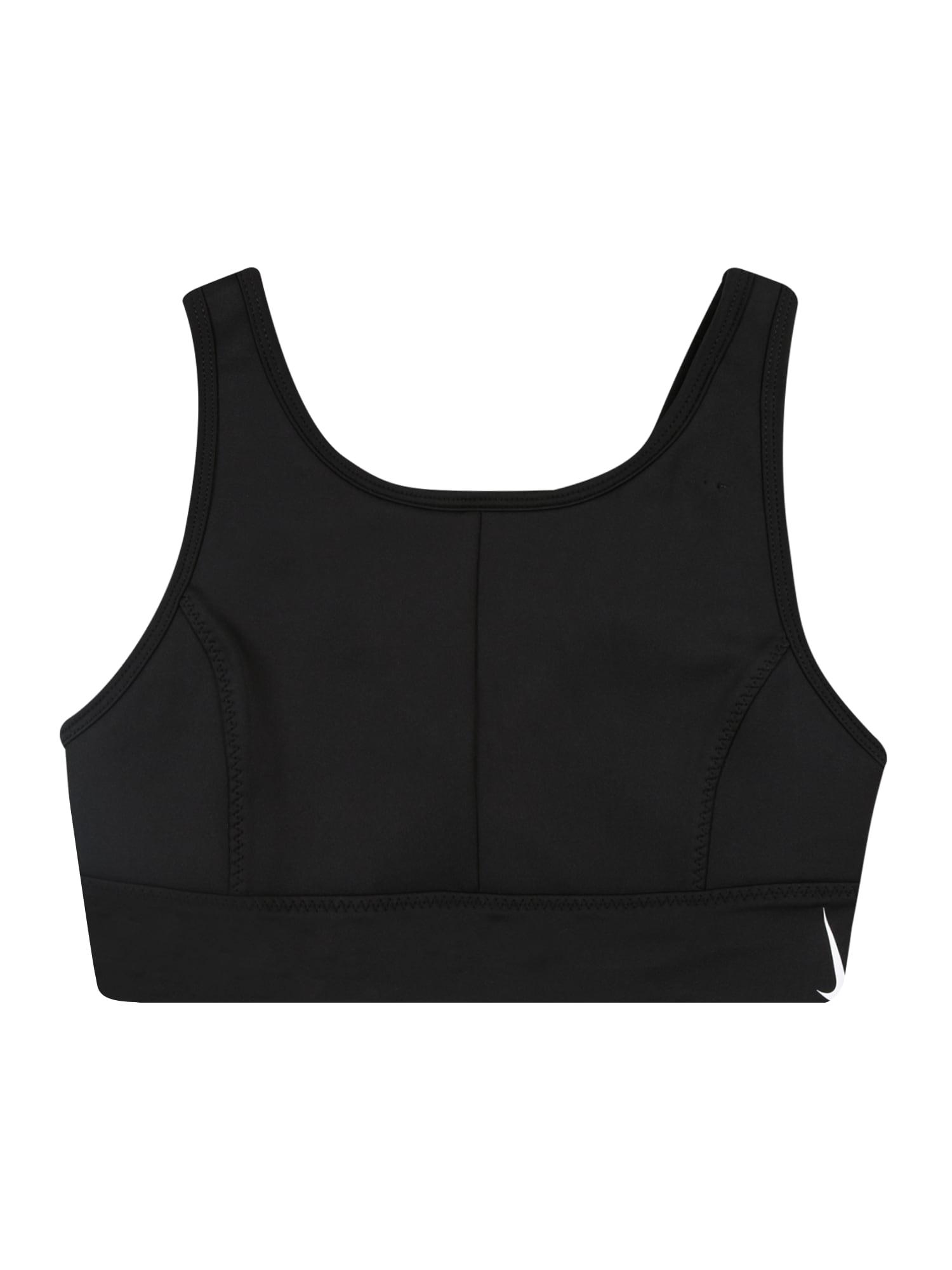 NIKE Sportovní spodní prádlo 'Swoosh Luxe'  černá