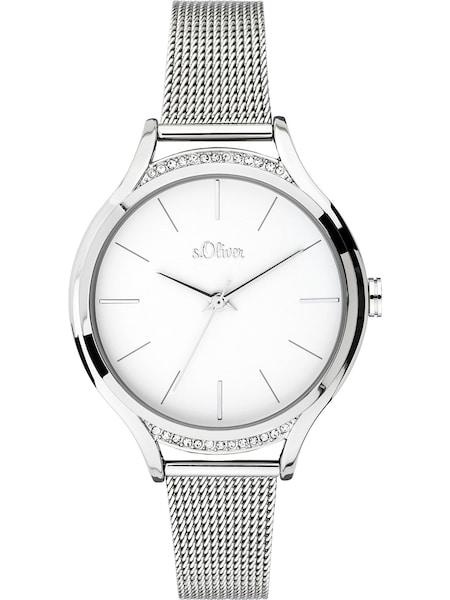 Uhren für Frauen - S.Oliver Uhr 'SO 3694 MQ' silber  - Onlineshop ABOUT YOU