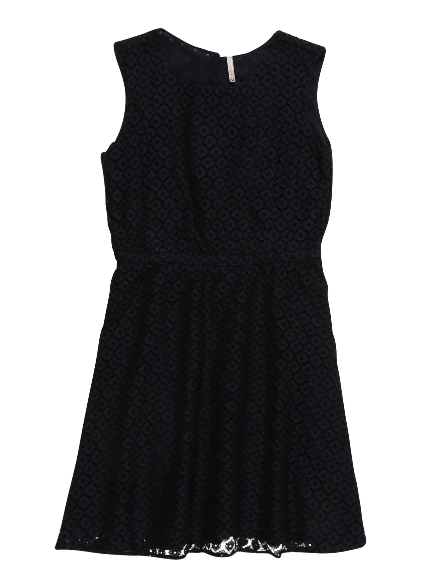 Šaty konLINE SL ABOVE KNEE DRESS WVN černá KIDS ONLY