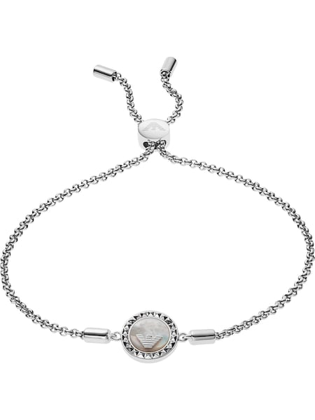 Armbaender für Frauen - Emporio Armani Armband silber  - Onlineshop ABOUT YOU