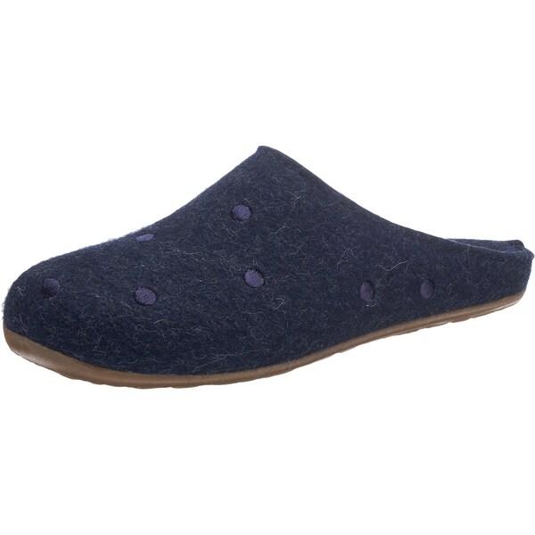 Hausschuhe für Frauen - HAFLINGER Pantoffeln 'Noblesse' blau  - Onlineshop ABOUT YOU
