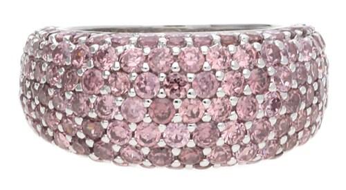 Ringe für Frauen - ESPRIT Fingerring Amorana Berry mit Zirkonia Steinbesatz ELRG91530E altrosa silber  - Onlineshop ABOUT YOU