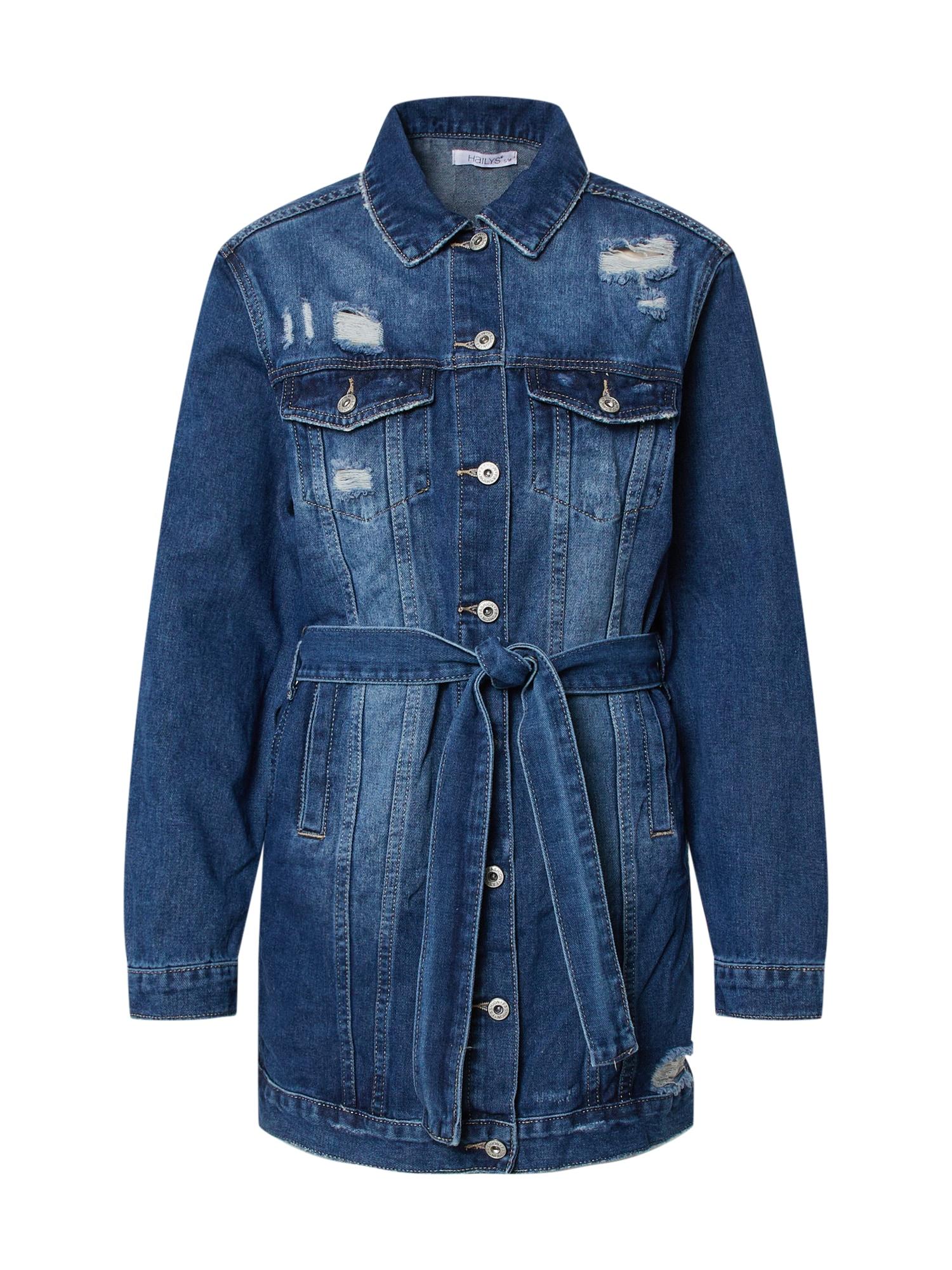Hailys Rudeninis-žieminis paltas 'Alina' mėlyna