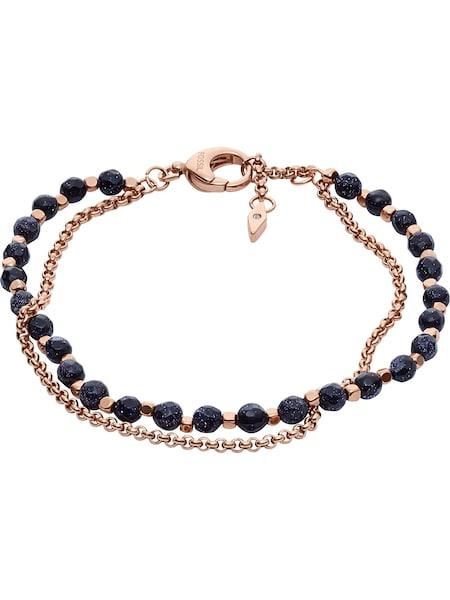 Armbaender für Frauen - FOSSIL Armband kobaltblau rosegold  - Onlineshop ABOUT YOU