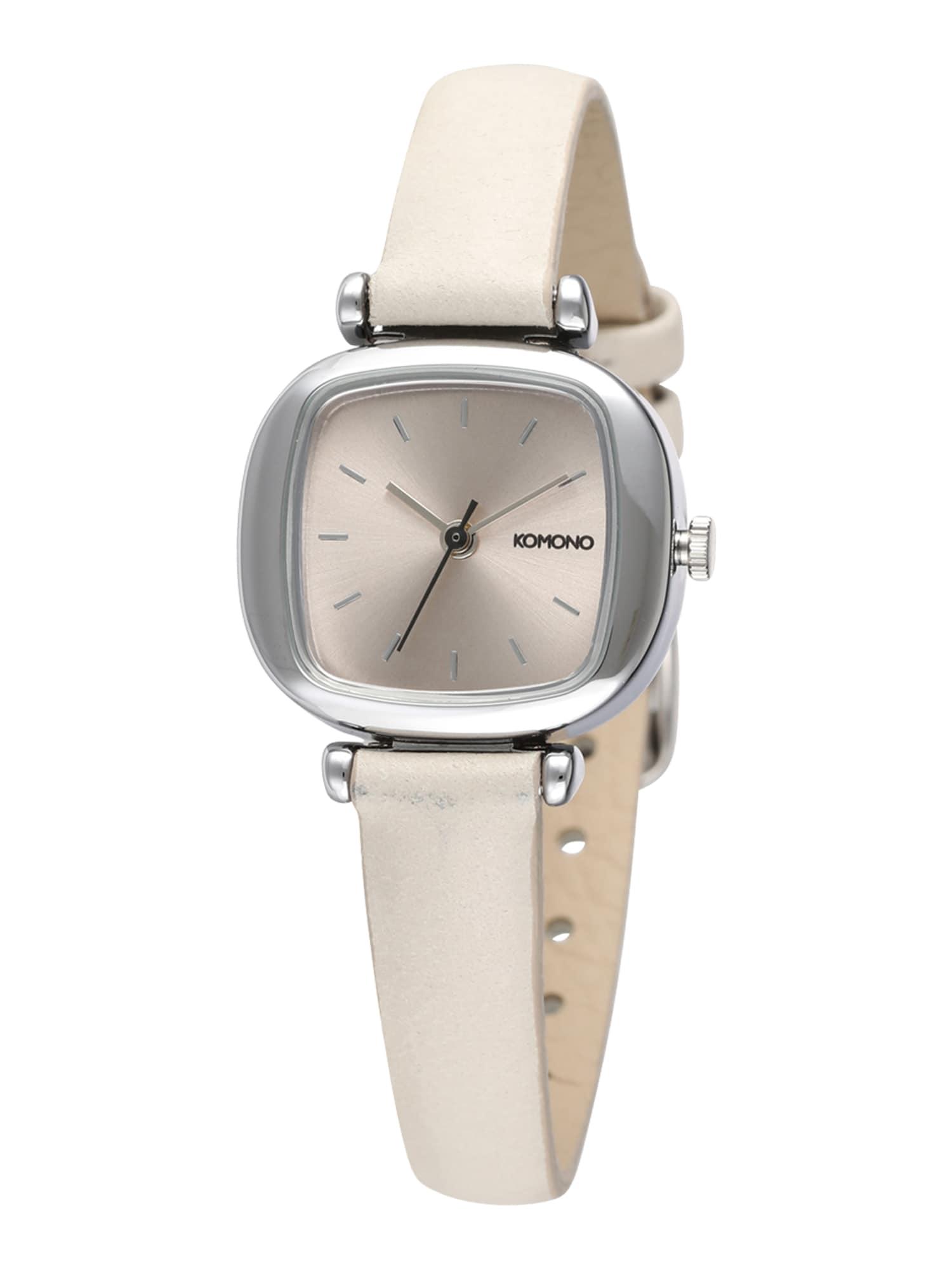Analogové hodinky Moneypenny bílá Komono