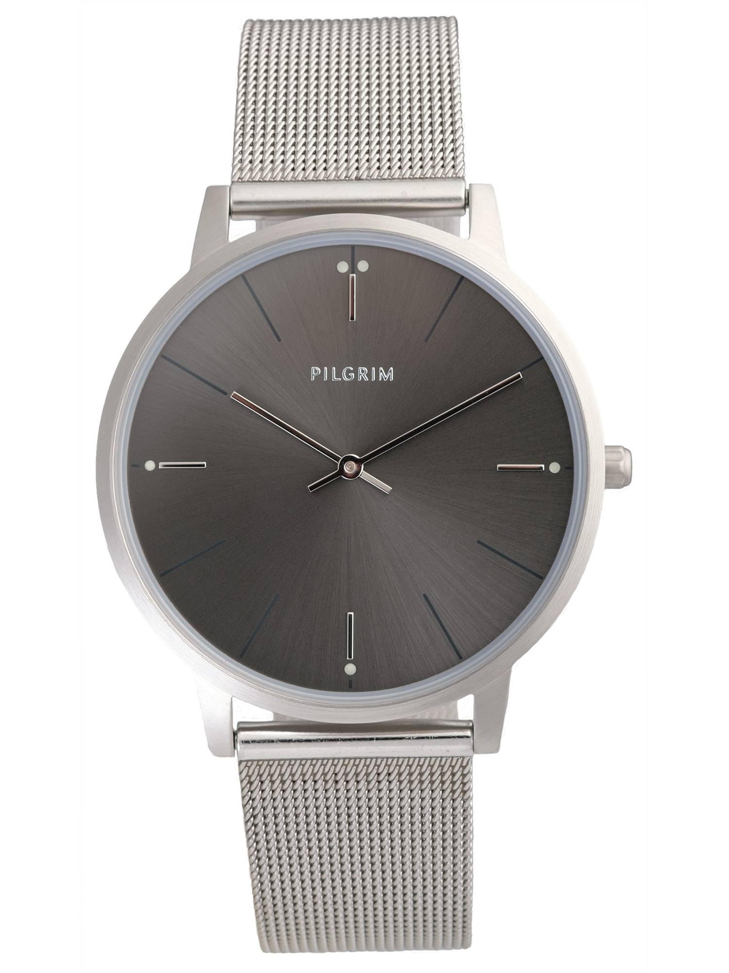 Pilgrim Analoginis (įprastinio dizaino) laikrodis 'Aidon' sidabras