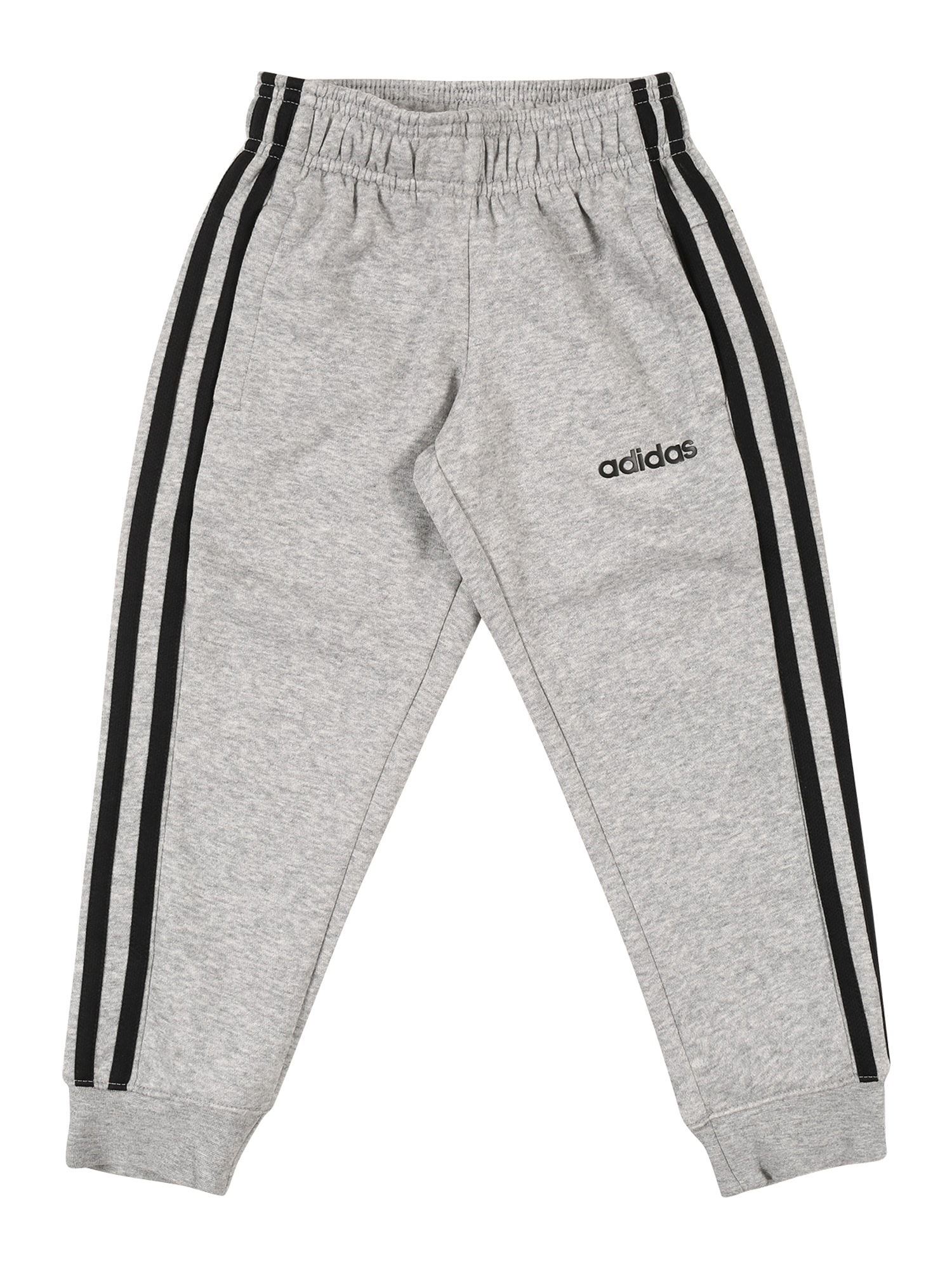 ADIDAS PERFORMANCE Sportinės kelnės juoda / margai pilka