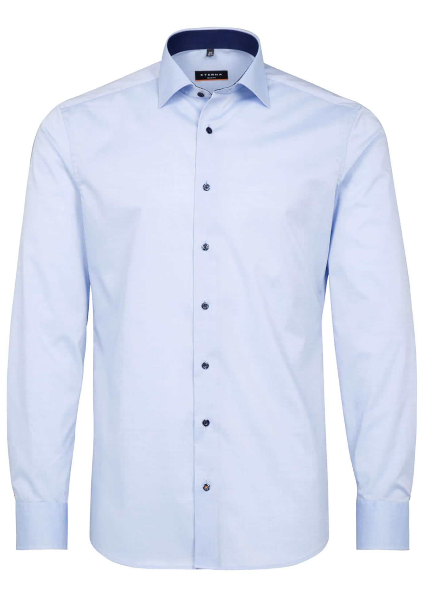 ETERNA Marškiniai šviesiai mėlyna