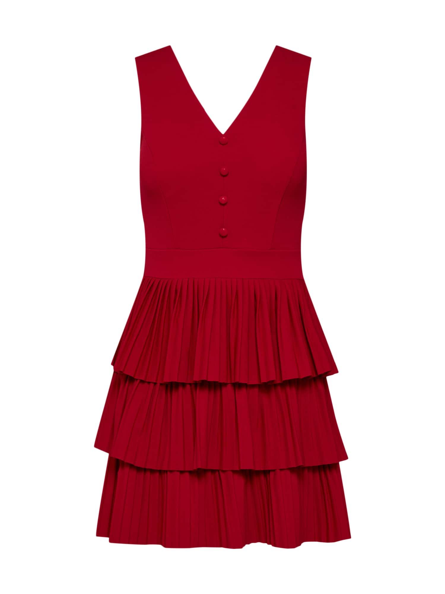 WAL G. Suknelė vyšninė spalva
