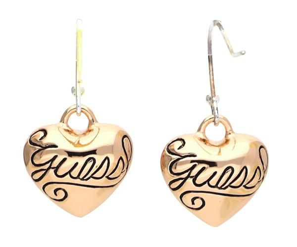 Ohrringe für Frauen - GUESS Ohrhänger 'Ube80936' gold schwarz  - Onlineshop ABOUT YOU