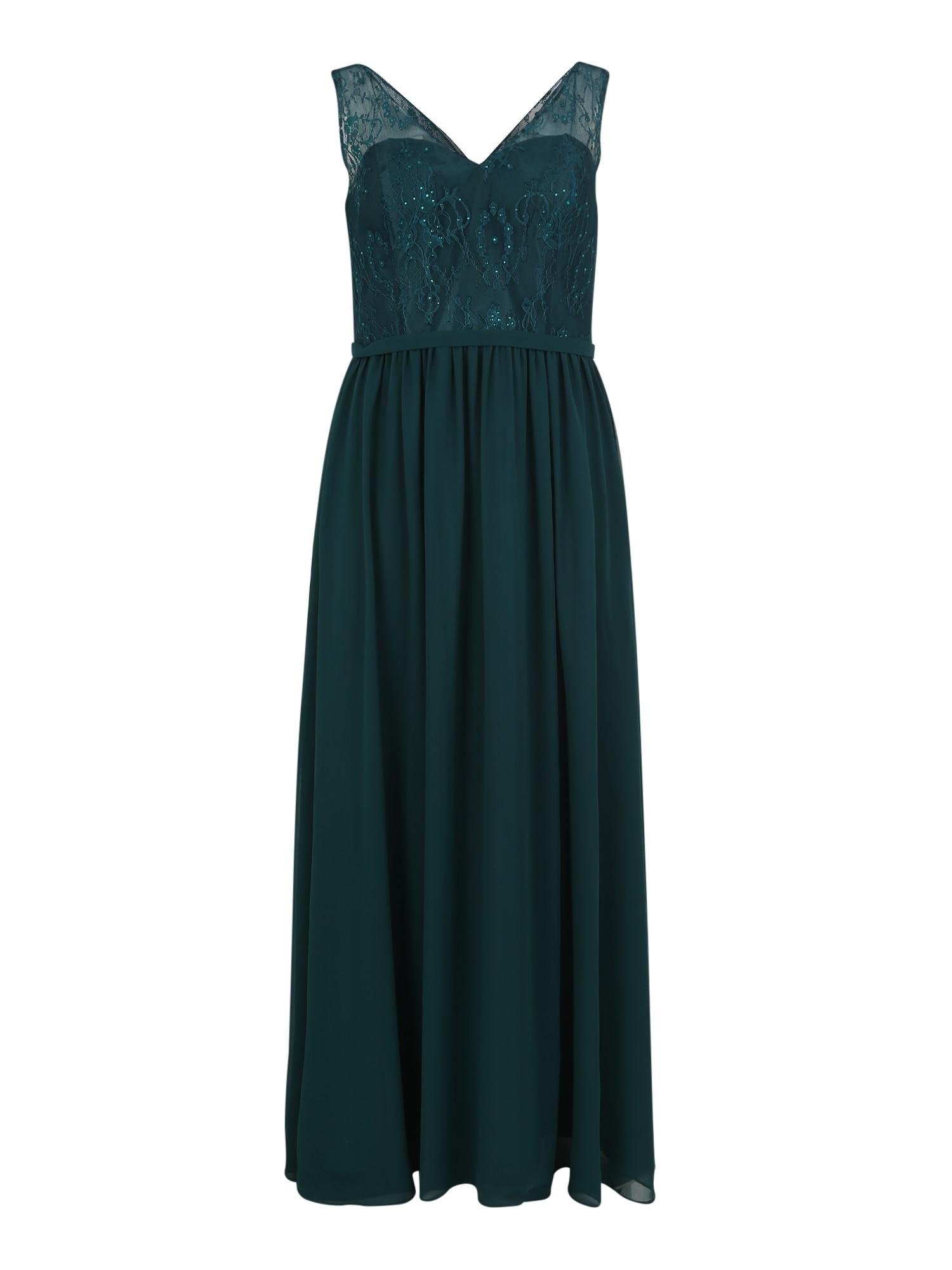 Společenské šaty CLASSIC LACE zelená My Mascara Curves
