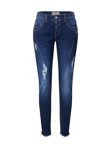 Hosen - Jeans 'NEW GEORGINA' › Gang › blue denim dunkelblau nachtblau  - Onlineshop ABOUT YOU