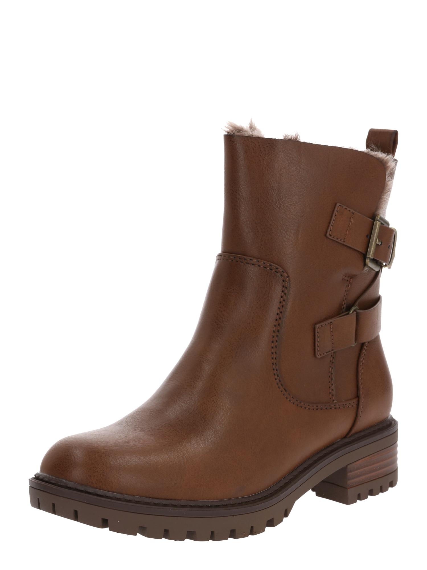 Dorothy Perkins Auliniai batai ruda