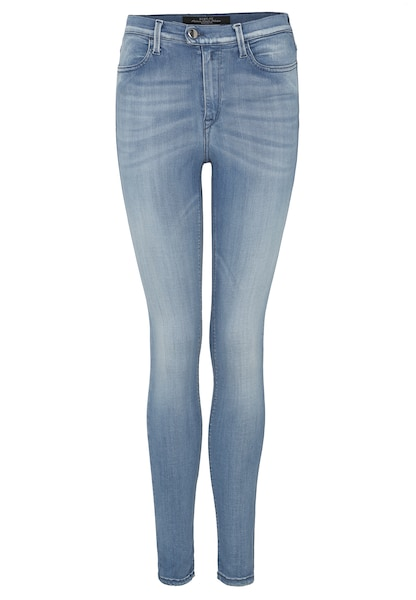 Hosen für Frauen - Jeans 'TOUCH' Skinny Fit › Replay › blau  - Onlineshop ABOUT YOU