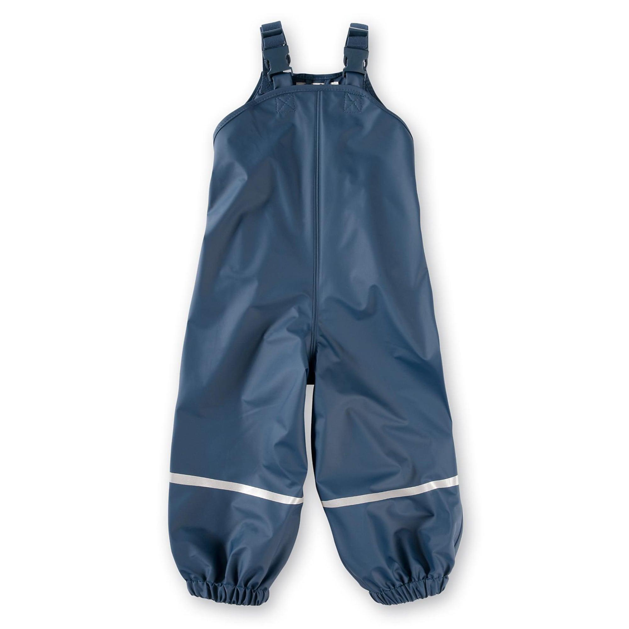 PLAYSHOES Funkcinės kelnės tamsiai mėlyna jūros spalva / sidabrinė
