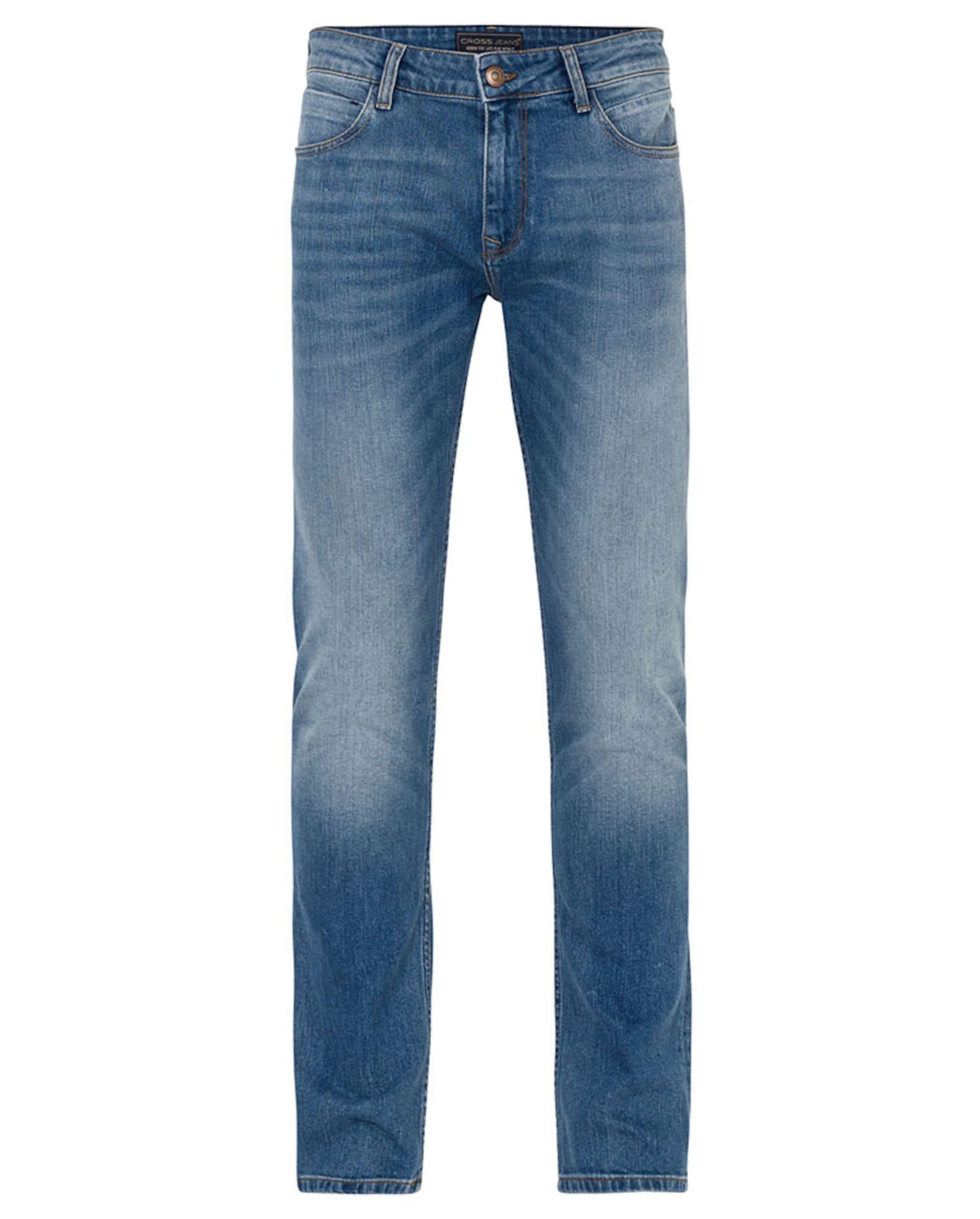 Džíny Johnny modrá džínovina Cross Jeans
