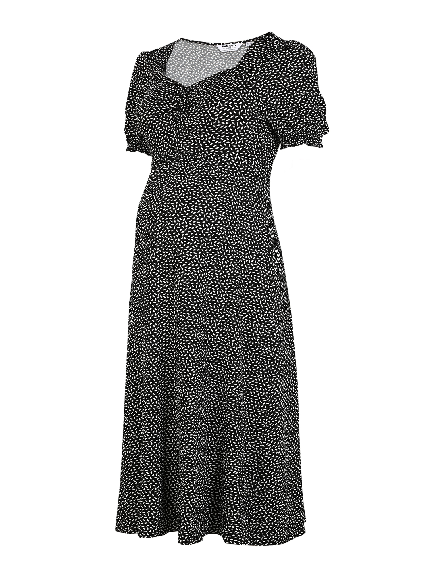 Dorothy Perkins Šaty 'Maternity Mono Midi '  čierna
