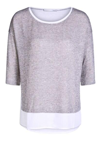 Oberteile für Frauen - OUI T Shirt grau  - Onlineshop ABOUT YOU