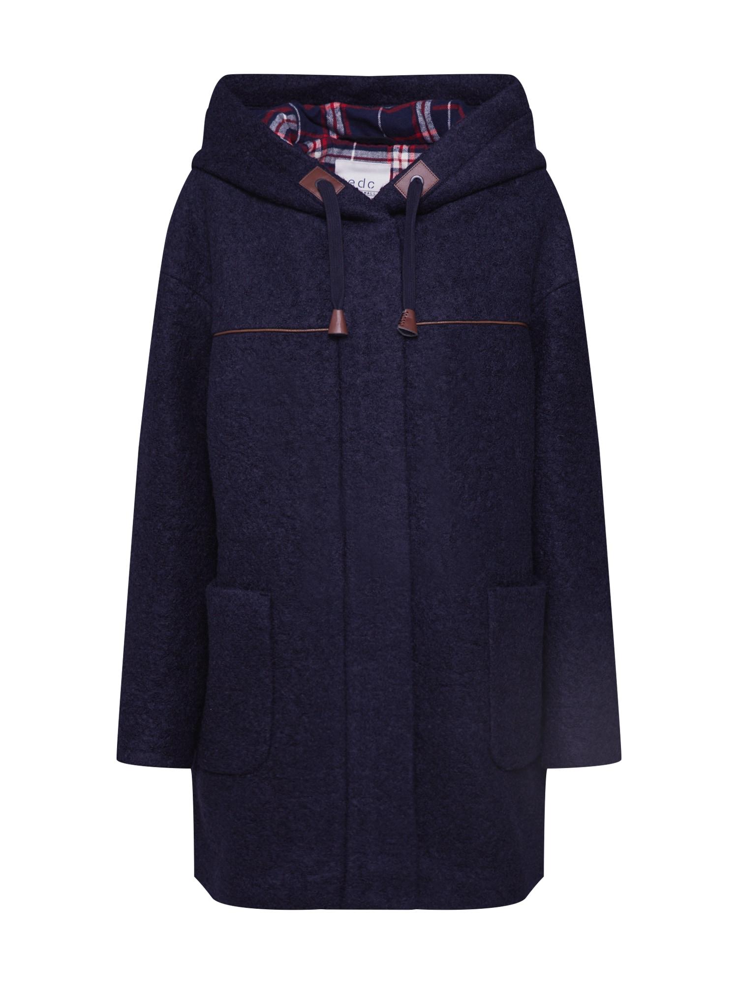 EDC BY ESPRIT Rudeninis-žieminis paltas 'Duffle Coat' tamsiai mėlyna