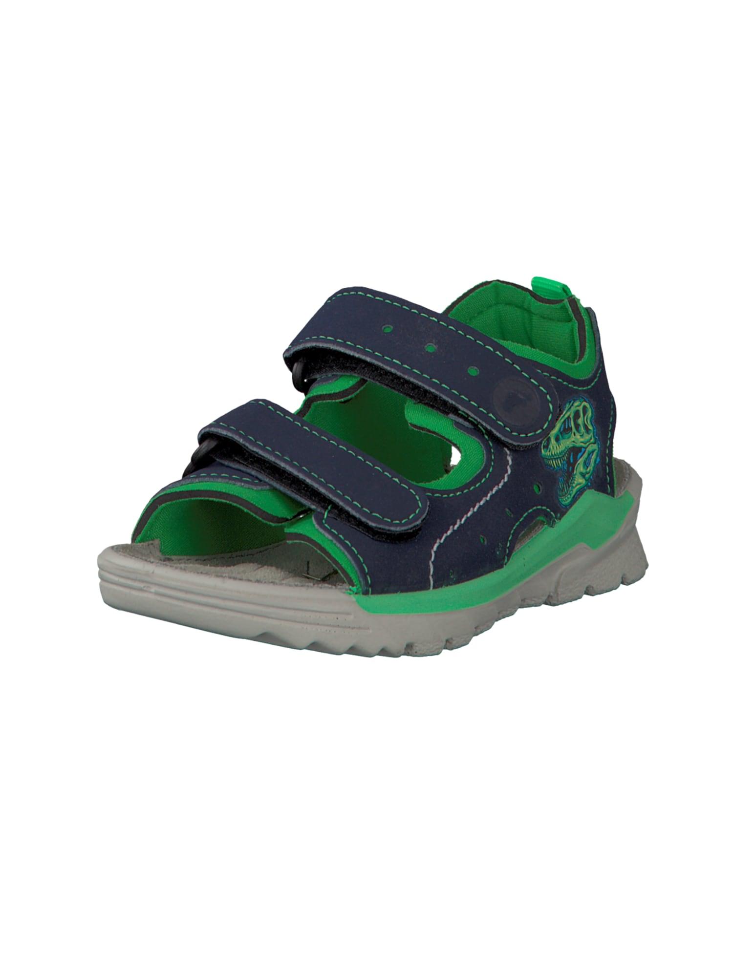 Otevřená obuv noční modrá svítivě zelená RICOSTA