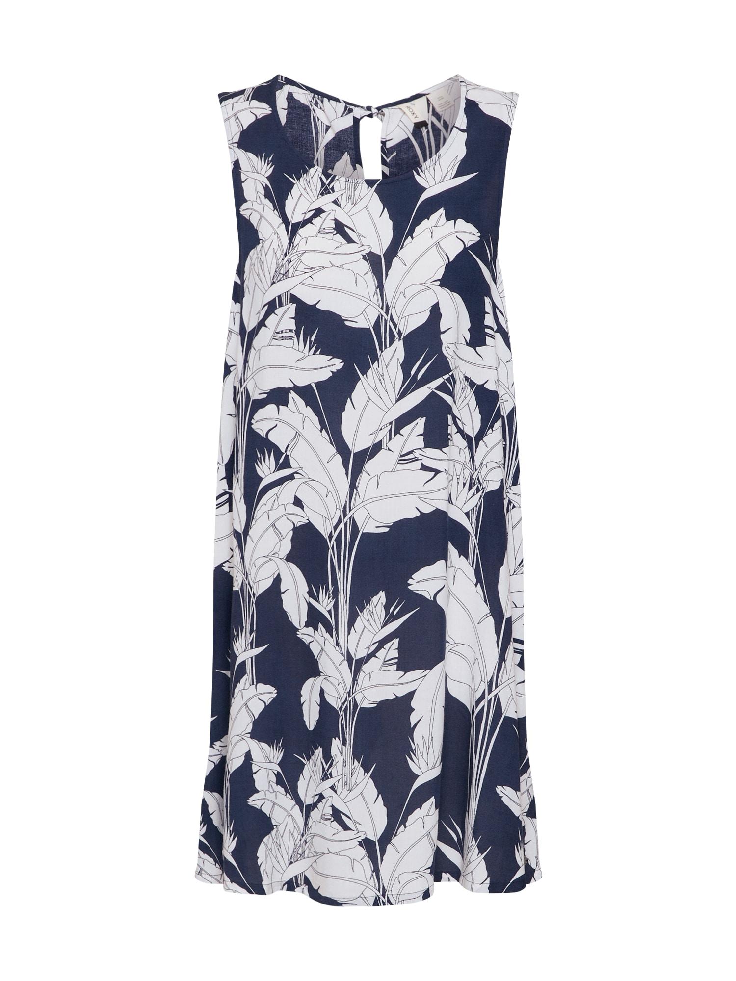 ROXY Letné šaty 'TRANQUILITY VIBES'  biela / modré