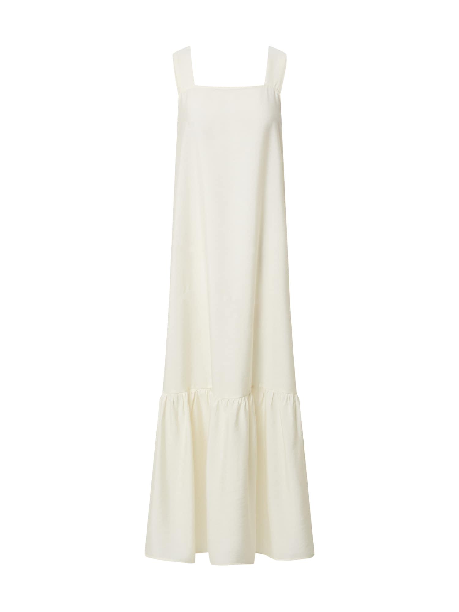 EDITED Vasarinė suknelė 'Natalie' balkšva / balta