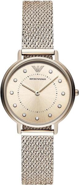 Uhren für Frauen - Emporio Armani Quarzuhr rosegold  - Onlineshop ABOUT YOU