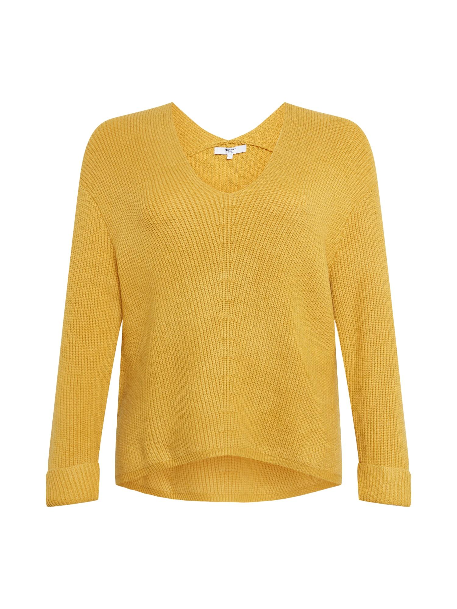 ABOUT YOU Curvy Megztinis 'Tamara' garstyčių spalva