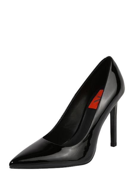 Highheels für Frauen - Calvin Klein Jeans High Heel Pumps in Lackleder 'PAIGE' schwarz  - Onlineshop ABOUT YOU