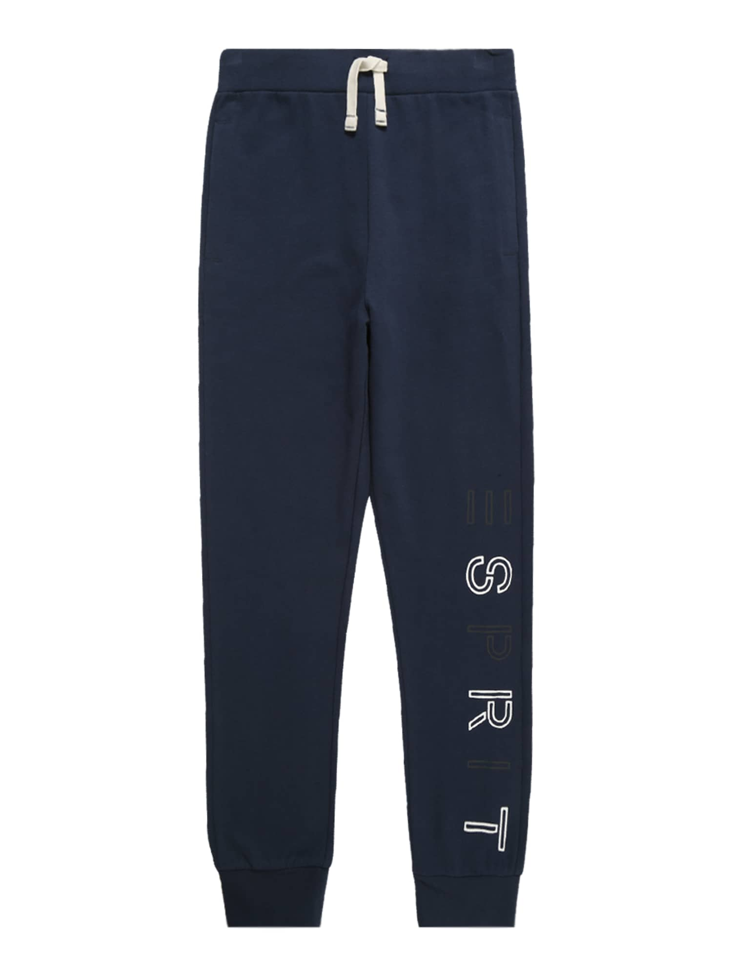Kalhoty námořnická modř bílá ESPRIT