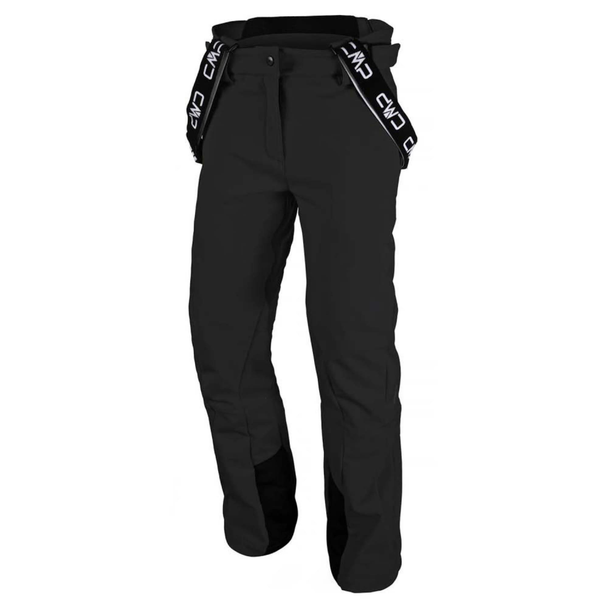 CMP Outdoorové kalhoty  černá