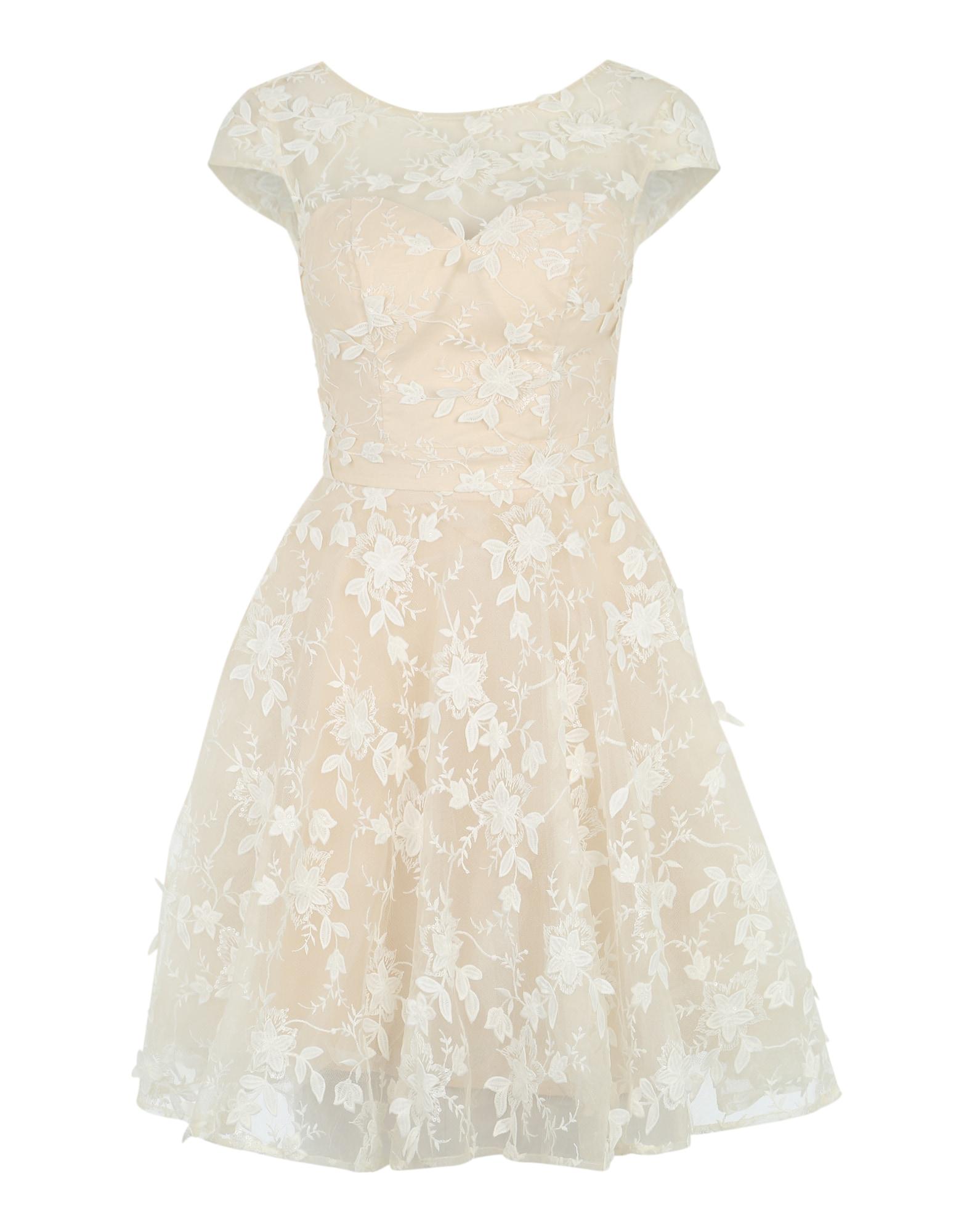 Chi Chi London Kokteilinė suknelė balta
